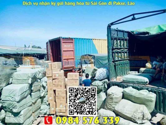Dịch vụ gửi hàng đi Pakxe tại Sài Gòn