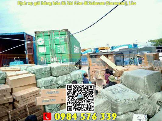 Dịch vụ gửi hàng đi Salavan tại Sài Gòn